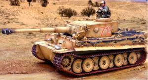 Collectors Showcase DAK Tiger I Heavy Tank