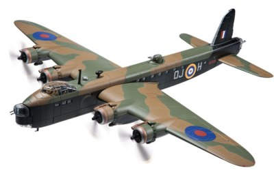Corgi's 1:72 scale RAF Short Stirling Mk. I Heavy Bomber – OJ-H, No.149 Squadron, Rawdon Hume 'Ron' Middleton VC, Turin Raid, November 1942