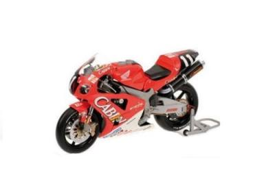 Minichamps' 1:12 scale 2001 Honda VTR 1000 World Super Bike - Valentino Rossi, Suzuka 8 Hours Endurance Road Race