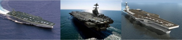 Ford Class Aircraft Carriers